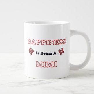 Glück ist A Mimi Jumbo-Tasse