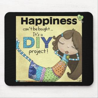 Glück ist ein DIY Projekt Mousepad