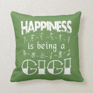 Glück ist ein GIGI Kissen