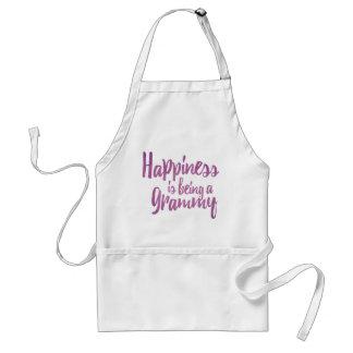 Glück ist ein Grammy Schürze