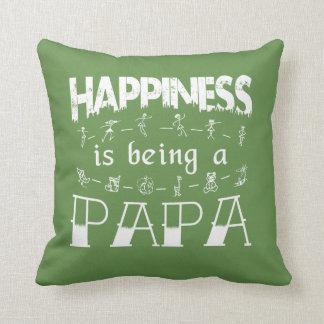 Glück ist ein PAPA Kissen