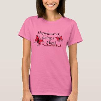 Glück ist ein SCHMETTERLING Mimi T-Shirt