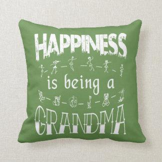 Glück ist eine GROSSMUTTER Kissen