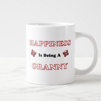 Glück ist eine Oma Jumbo-Tasse