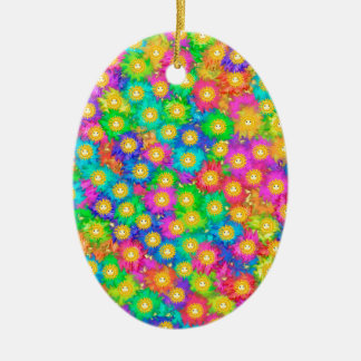 Glück Keramik Ornament