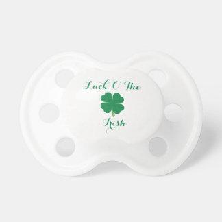 Glück O der irische Schnuller
