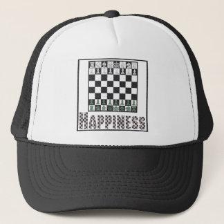 Glück: Schach Truckerkappe
