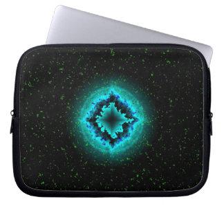 Glück-Stern und Sternchen Laptopschutzhülle