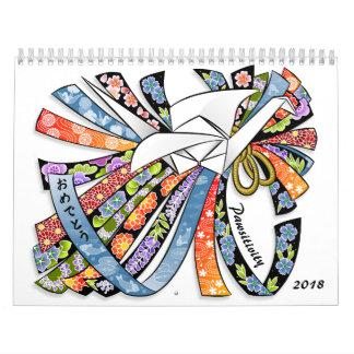 Glück und Kätzchen Pawsitivity 2018 Kalender