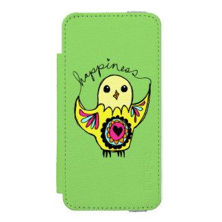 Glück-Vogel Incipio Watson™ iPhone 5 Geldbörsen Hülle