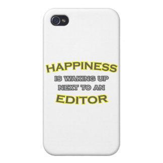 Glück wacht nahe bei einem Herausgeber auf iPhone 4/4S Hülle