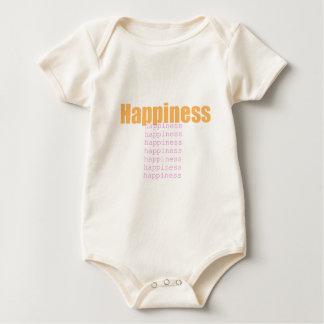 Glück-Wörter Baby Strampler