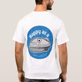 Glücklich als Muschel-T - Shirt