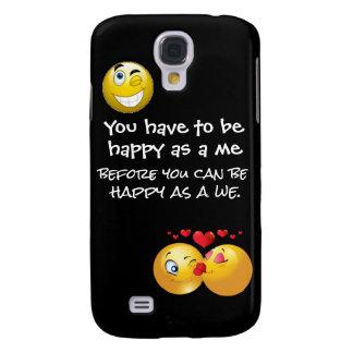 Glücklich als rufen wir Fall an Galaxy S4 Hülle