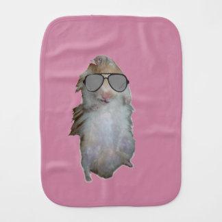 Glücklich der Hamster Baby Spucktuch