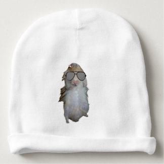 Glücklich der Hamster Babymütze