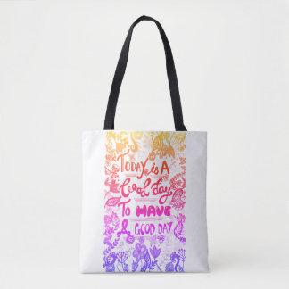 Glücklich-gehen-glückliche Taschen-Tasche