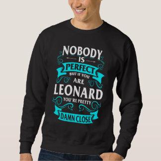 Glücklich, LEONARD-T-Shirt zu sein Sweatshirt