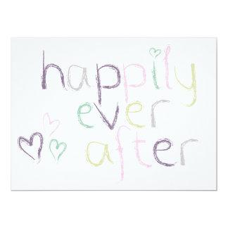 Glücklich seitdem - Hochzeitstag Karte