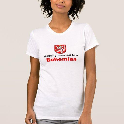 Glücklich verheiratet zu einem Böhmen Shirt