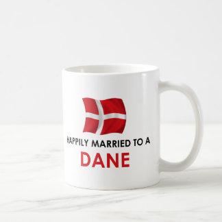 Glücklich verheiratet zu einem Dänen Kaffeetasse