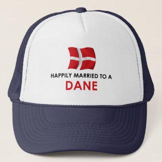 Glücklich verheiratet zu einem Dänen Truckerkappe