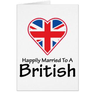 Glücklich verheiratete Briten Karte