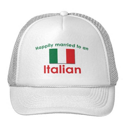 Glücklich verheirateter Italiener Mütze