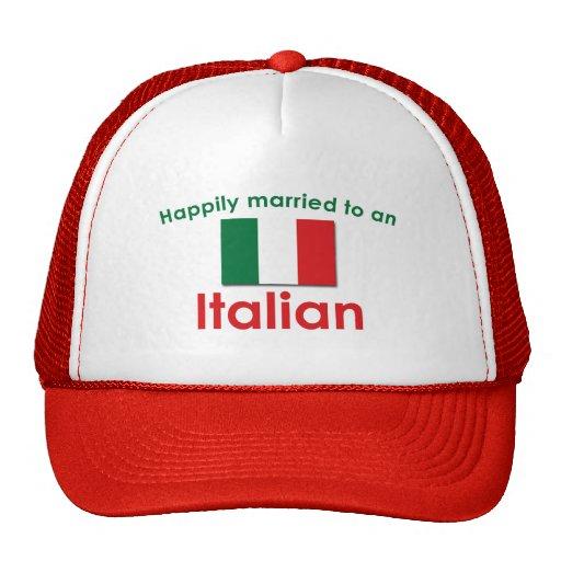 Glücklich verheirateter Italiener Kultkappe