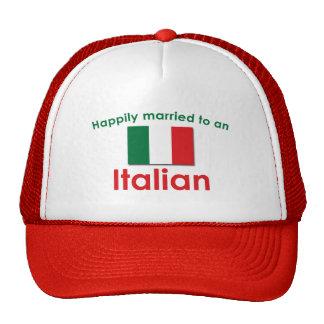 Glücklich verheirateter Italiener Netz Caps