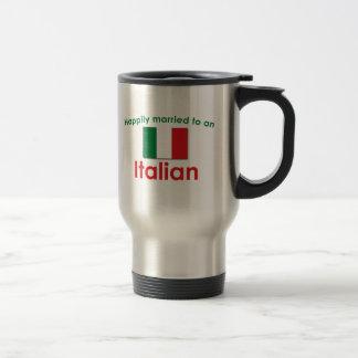 Glücklich verheirateter Italiener Kaffeetassen