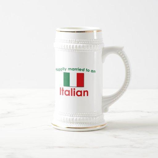 Glücklich verheirateter Italiener Haferl