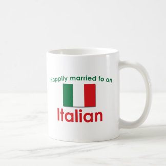 Glücklich verheirateter Italiener Tasse