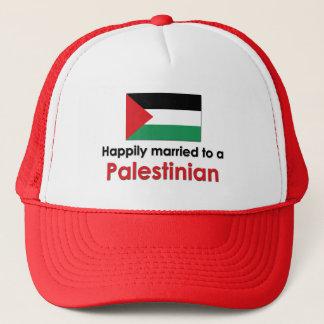 Glücklich verheirateter Palästinenser Truckerkappe