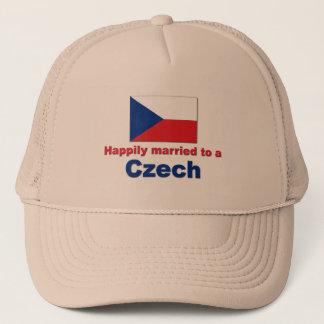 Glücklich verheirateter Tscheche Truckerkappe
