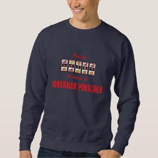 Glücklich zu eigenem ein sweatshirt
