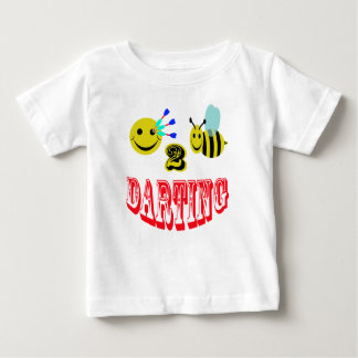 Glücklich zum Bienen-Schießen Baby T-shirt