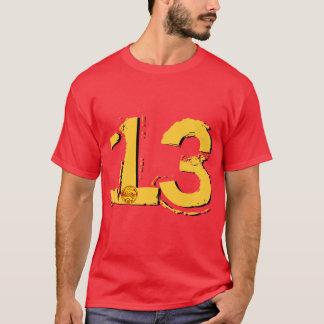 glückliche 13 T-Shirt