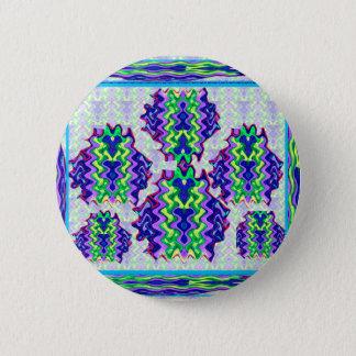 Glückliche Ausdruck-grafische abstrakte Runder Button 5,7 Cm