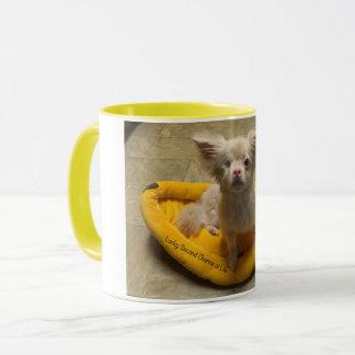 Glückliche Bananen-Bett-Kaffee-Tasse Tasse