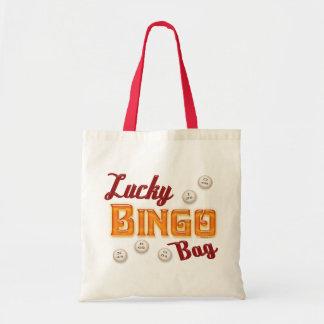 Glückliche Bingo-Tasche Budget Stoffbeutel