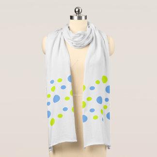 Glückliche Blasen-flippiger weicher Jersey-Schal Schal