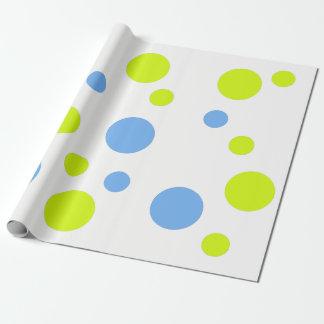 Glückliche Blasen-Geschenk-Verpackung Geschenkpapier