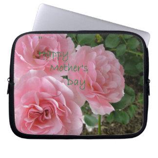 Glückliche Blumen der Mutter Tages Laptopschutzhülle