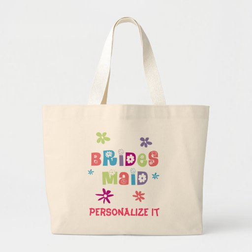 Glückliche Brautjungfer Taschen