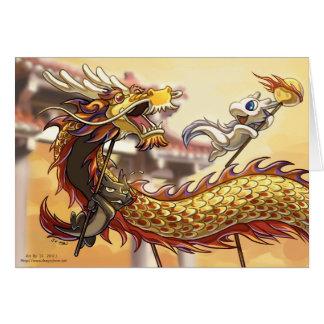 Glückliche chinesische neues Jahr Karte