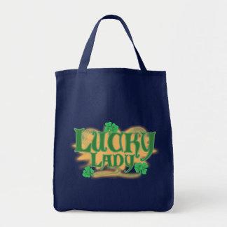 Glückliche Dame Grn Bags Tragetasche