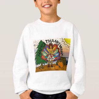 Glückliche Dank-Vegane die Sweatshirt