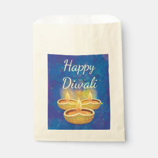Glückliche Diwali handgemalte aufschlussreiche Geschenktütchen