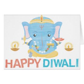 Glückliche Diwali Karte